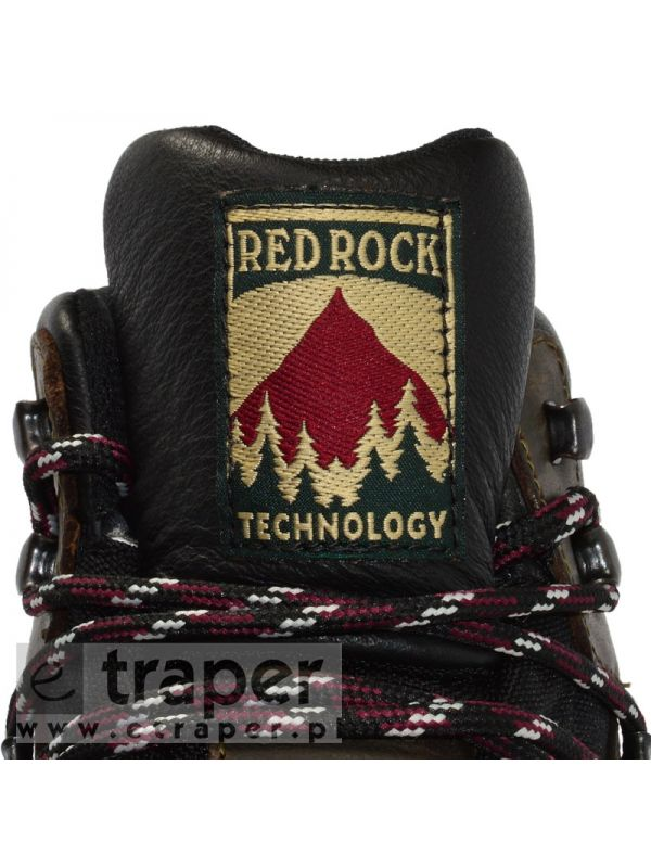 Skórzane trapery Red Rock 12801 Brąz