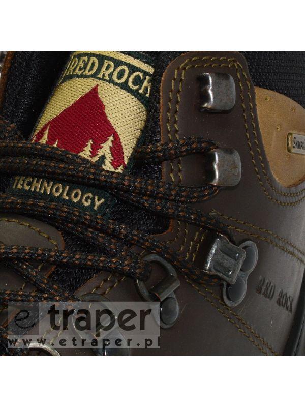 Wysokie trapery Red Rock 11205 Brązowe