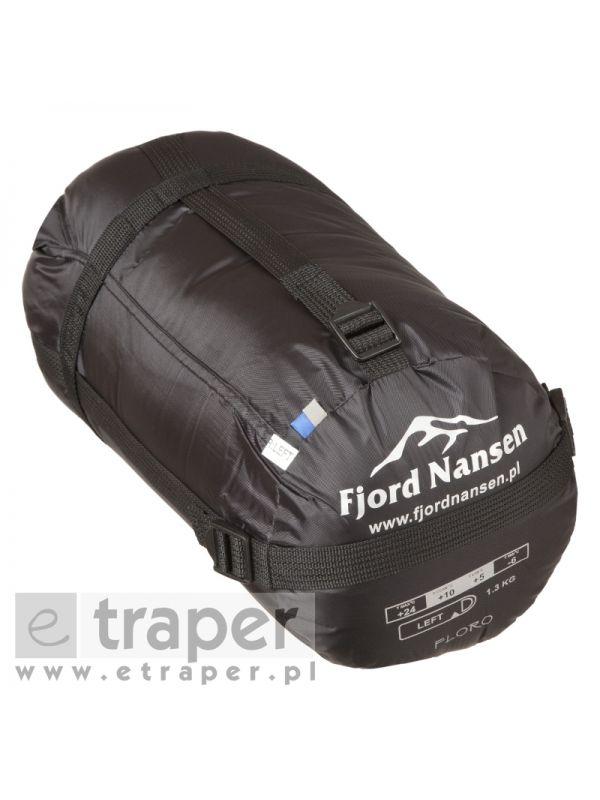 Klasyczny śpiwór koperta Fjord Nansen Floro Z Kapturem