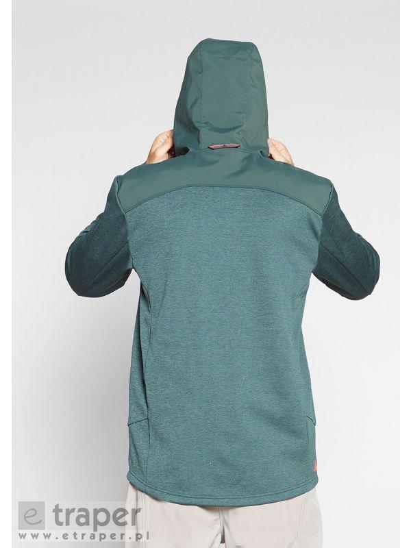 Ciepła bluza męska zielona Sirohi Berg Outdoor