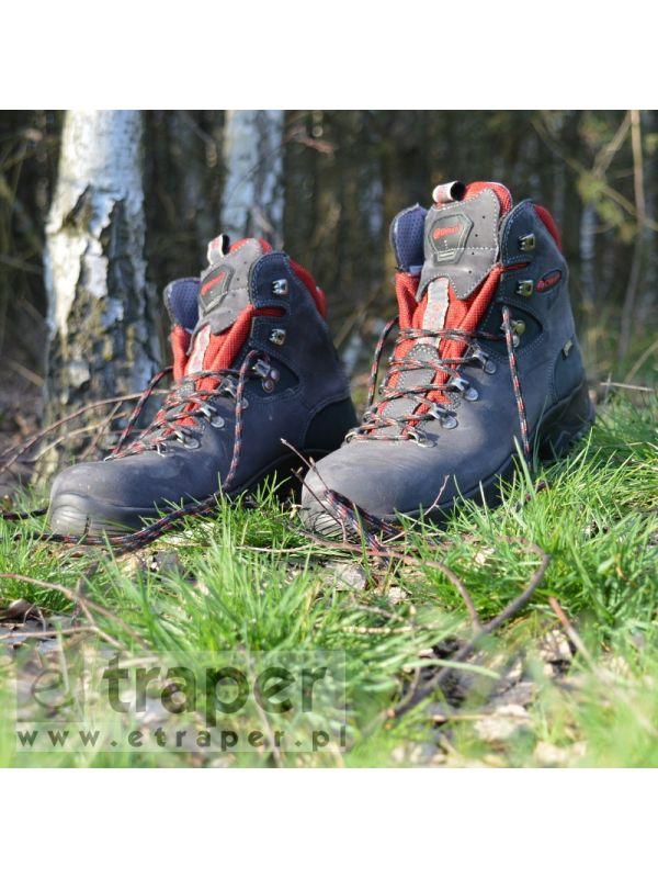 Skórzane buty górskie Chiruca Dynamic Czerwone Gore-Tex