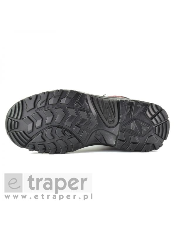 Damskie buty ze skóry Chiruca Panticosa Bordowe Wodoodporne