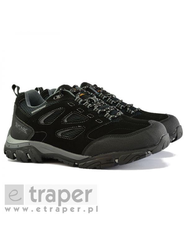 Czarne buty turystyczne niskie Regatta Holcombe IEP