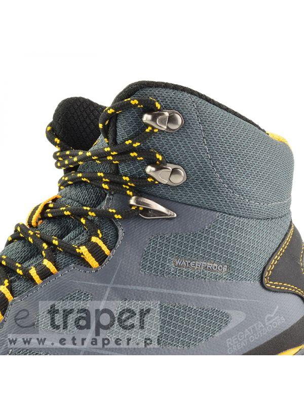 Buty trekkingowe Regatta Kota Mid Szare/Żółte