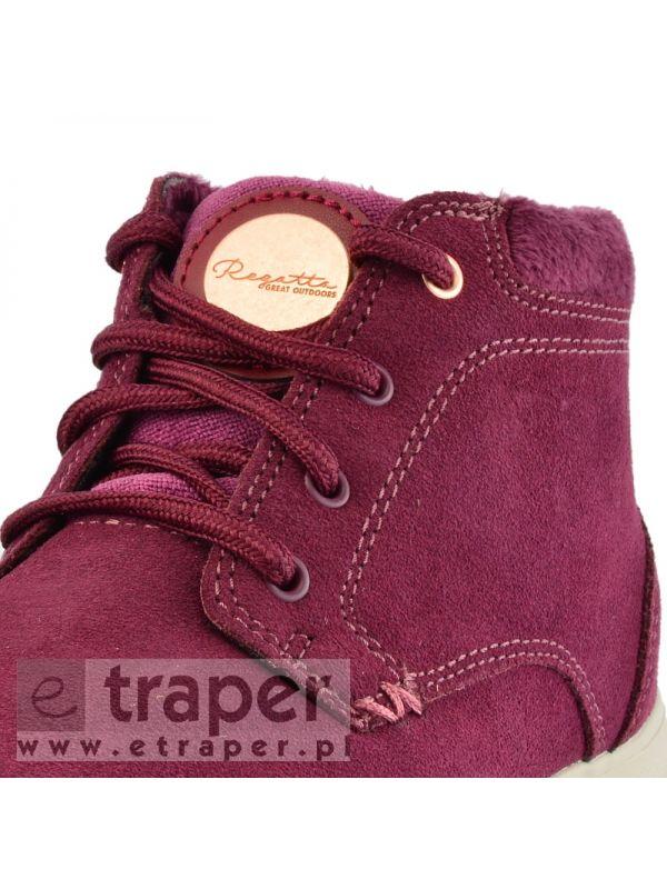Zamszowe buty na zimę do miasta Regatta Marine Thermo