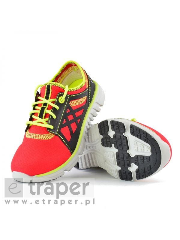 Czerwone buty dla dzieci Regatta Marine Sport