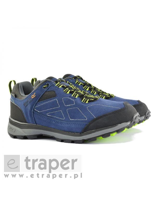 Niebieskie buty turystyczne Regatta Samaris Suede Low