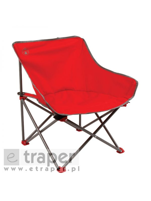 Krzesło Coleman Kick-Back Red