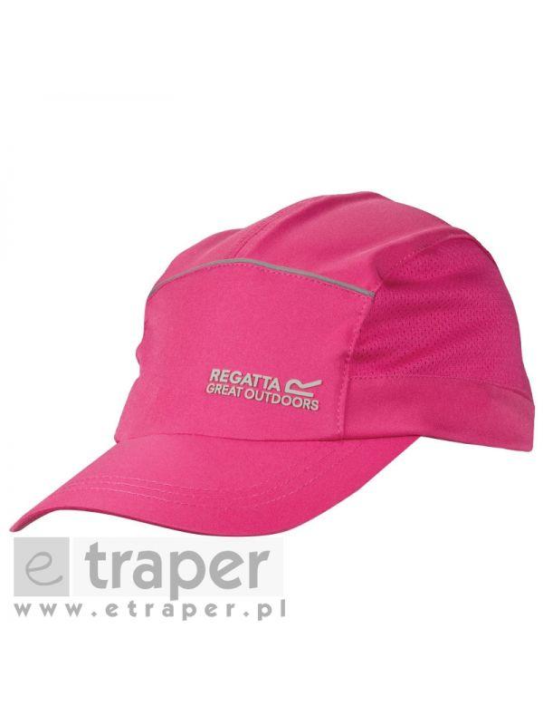 Różowa czapeczka siatkowa Regatta Extended Cap RUC028 5AR