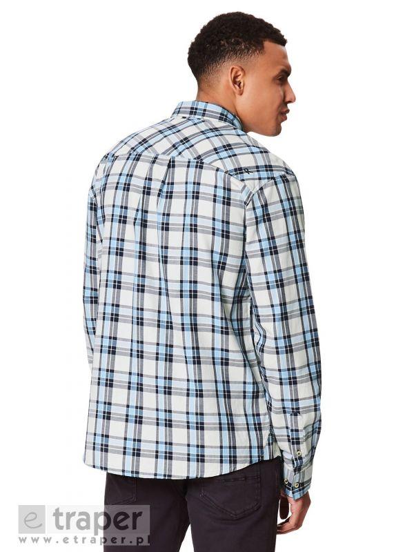 Męska koszula w kratę z długim rękawem Regatta Lothar
