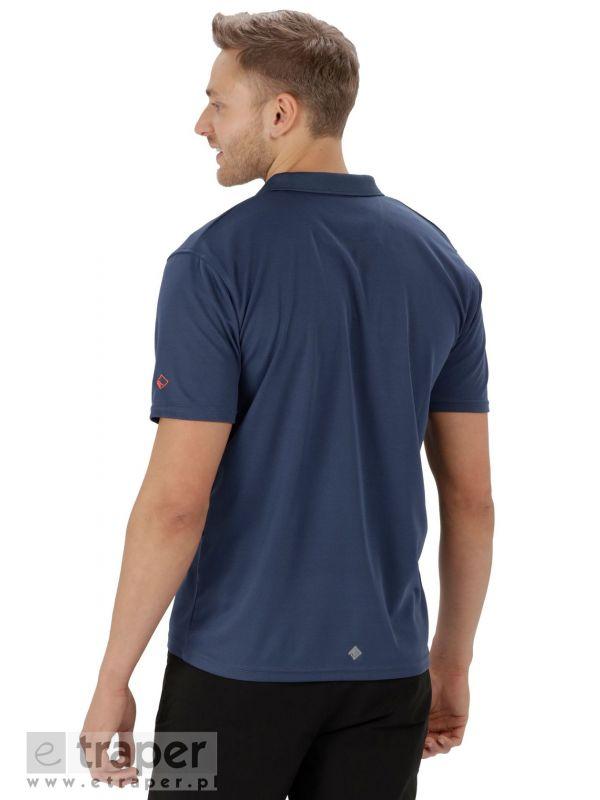 Techniczna koszulka męska Regatta Maverick Polo
