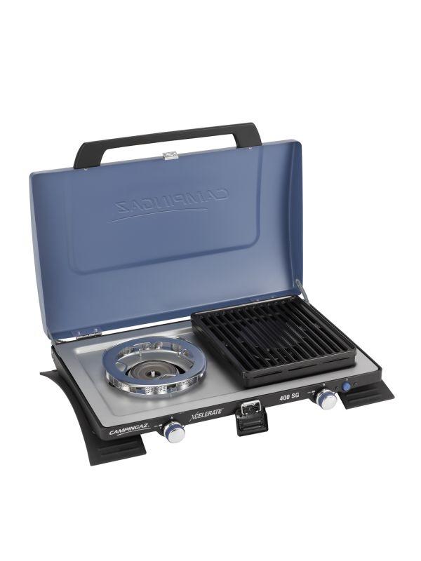 Kuchenka gazowa Campingaz 400 SG Zapalnik piezoelektryczny