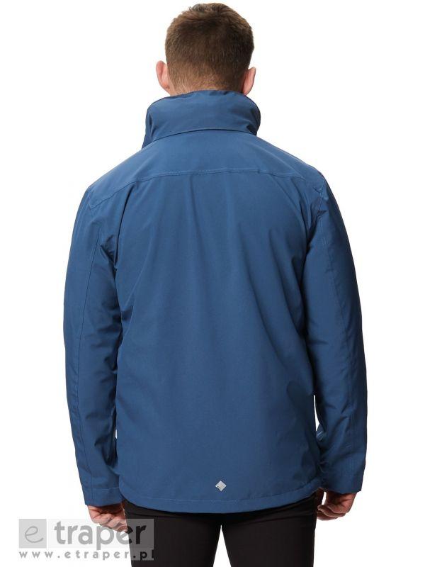 Niebieska kurtka z polarem Regatta Northton II