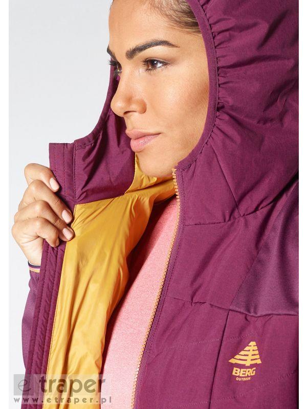 Wygodna kurtka z miłą podszewką marki Berg Outdoor