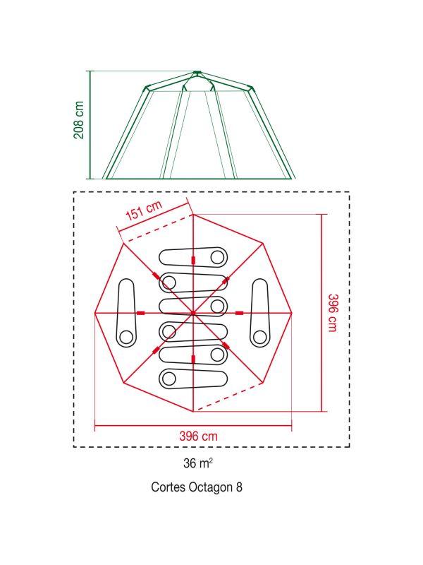 Namiot Coleman Cortes Octagon 8
