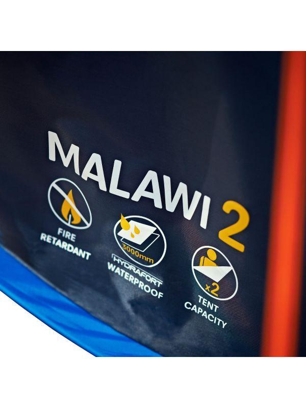 Niebieski namiot Pop-Up Regatta Malawi 2 Szybkie rozkładanie