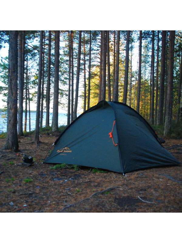 Namiot wyprawowy z przedsionkami Fjord Nansen Sierra 2