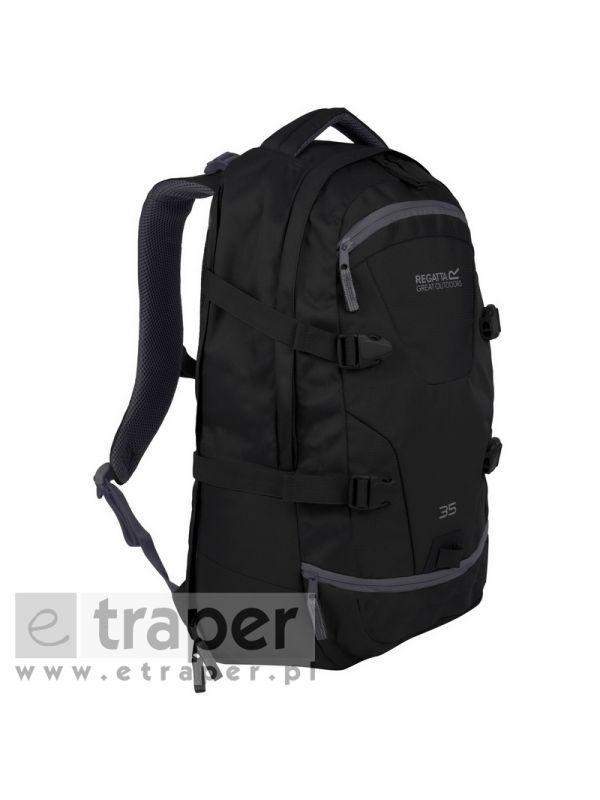 Plecak na tablet Regatta Paladen czarny 35 litrów