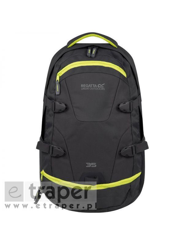 Szary plecak na tablet/laptop z bezpieczną kieszenią Regatta Paladen