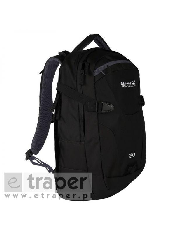 Czarny plecak z przegrodą na tablet Regatta Paladen