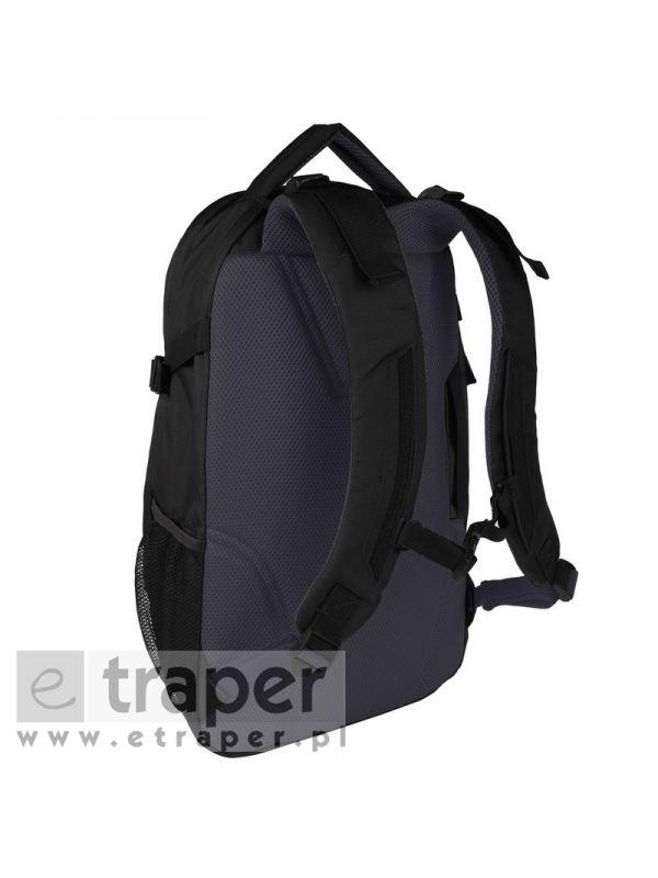 Wygodny czarny plecak 25 litrów Regatta Paladen