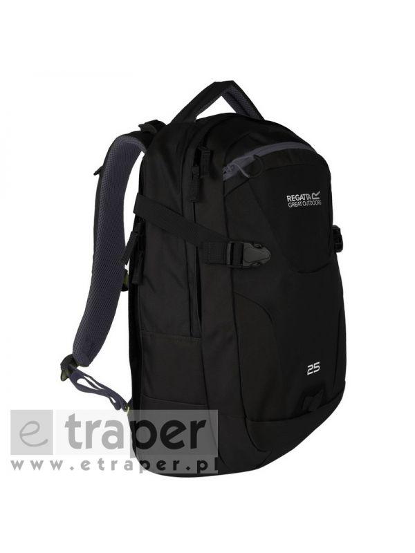 Czarny plecak z kieszenią na laptop Regatta Paladen