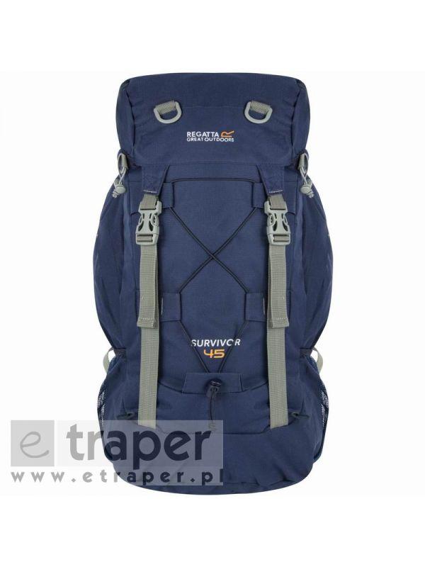 Granatowy plecak Regatta Survivor III 45L