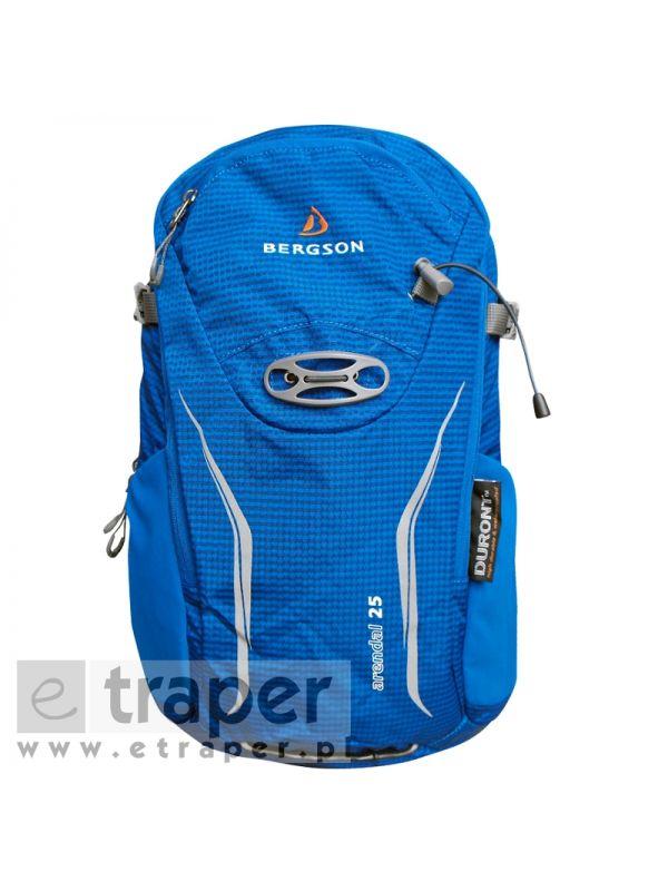 Niebieski plecak na wycieczkę Bergson Arendal 25l