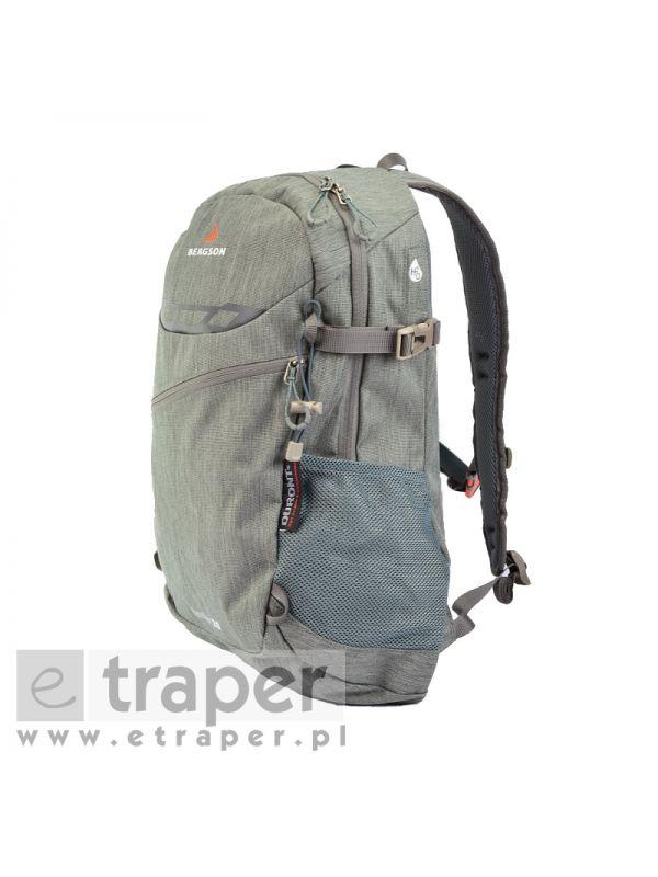 Szary plecak wycieczkowy Bergson Hamar 20l