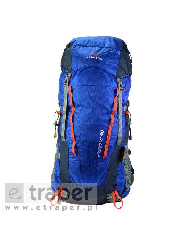 Duży plecak turystyczny Bergson Magnor 40l Niebieski
