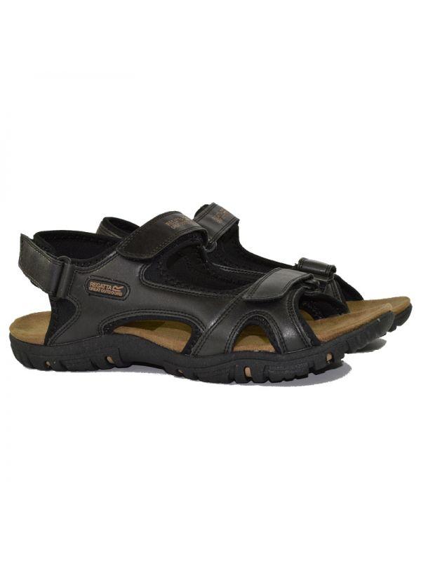 Czarne sandały męskie Regatta Haris