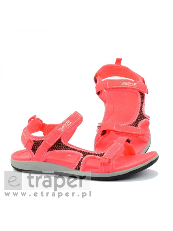 Koralowe sandały damskie Regatta Ad-Flo