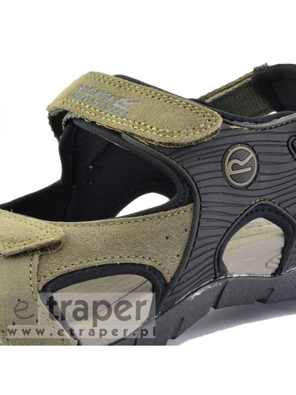 Mocne sandały męskie zamszowe Regatta Rafta RMF569