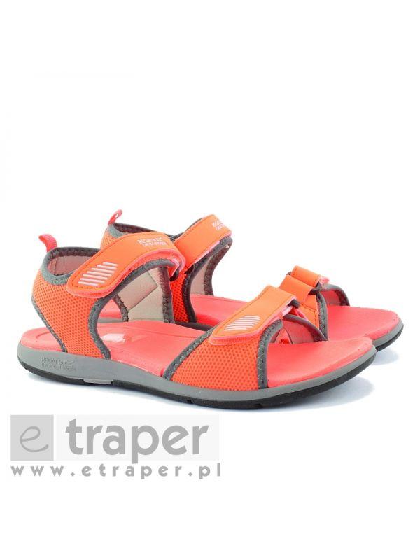 Sandały w kolorze koralowym Regatta Terrarock