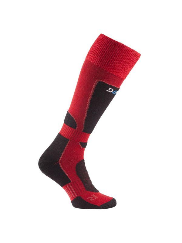 Czerwone skarpety na narty marki Dare 2b