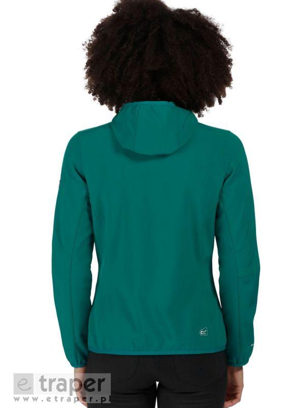 Ciepła bluza softshellowa damska Regatta Arec Zielona