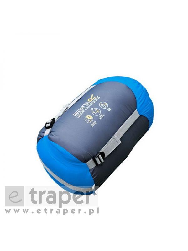 Lekki śpiwór dwusezonowy Regatta Hilo 200 Niebieski
