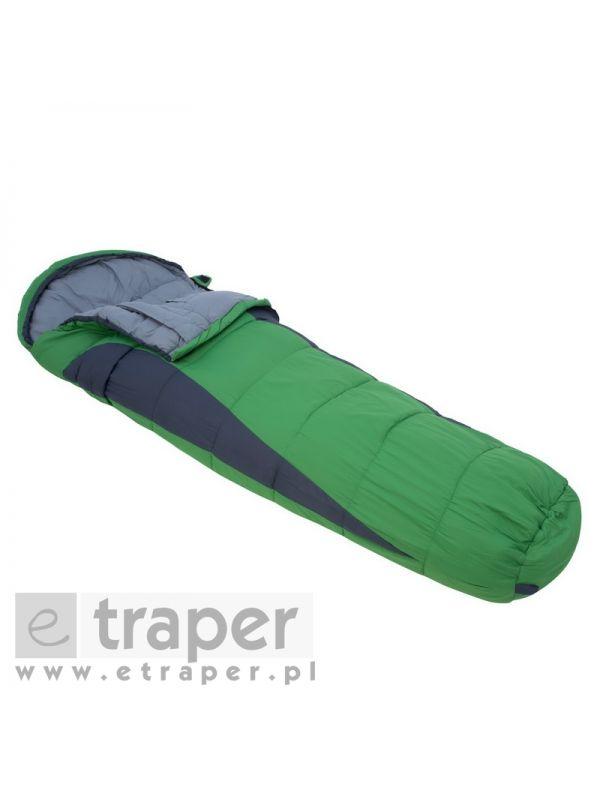 Zielony śpiwór mumia Regatta Hilo 250