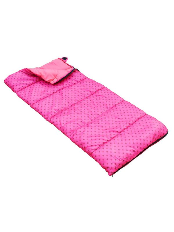Różowy śpiwór dla dzieci Regatta Maui Kids