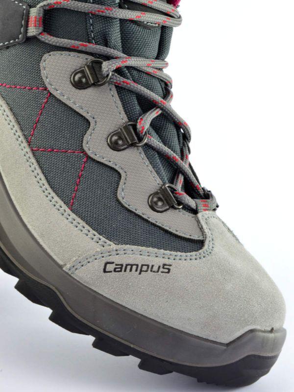 Szare buty turystyczne damskie Campus Apres