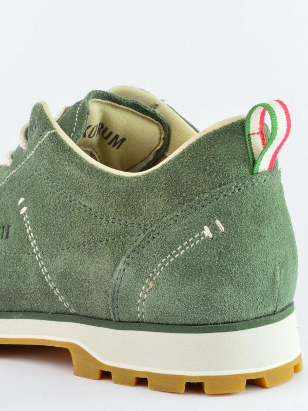Zielone buty męskie ze skóry Dolomite Cinquantaquattro Low