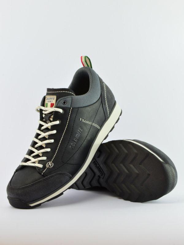 Casualowe buty męskie Dolomite Cinquantaquattro Daily Black