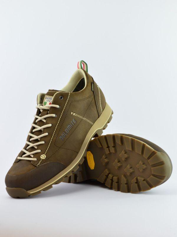 Niskie skórzane buty męskie Dolomite Cinquantaquattro FG GTX