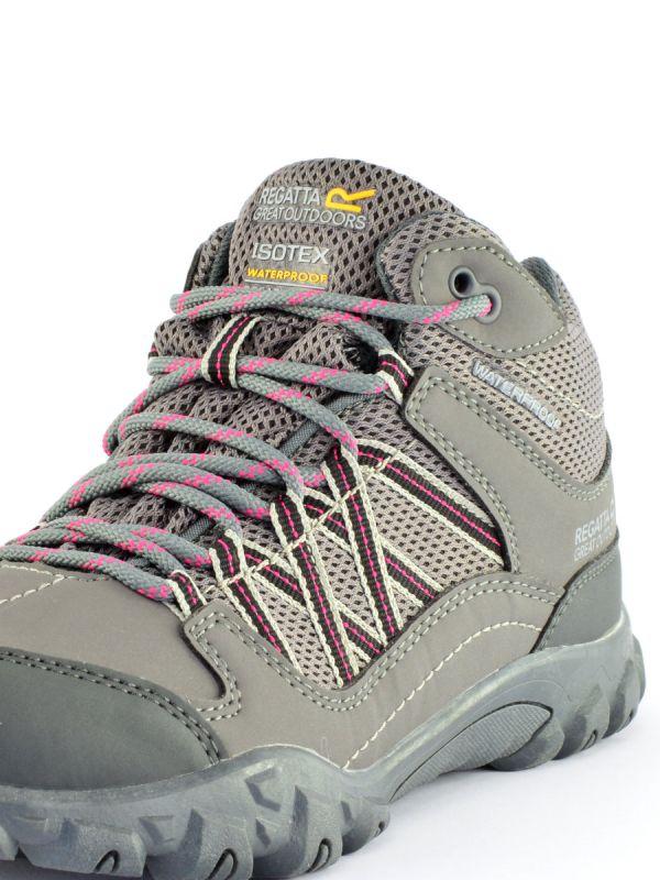 Szare obuwie turystyczne damskie Regatta Edgepoint WP