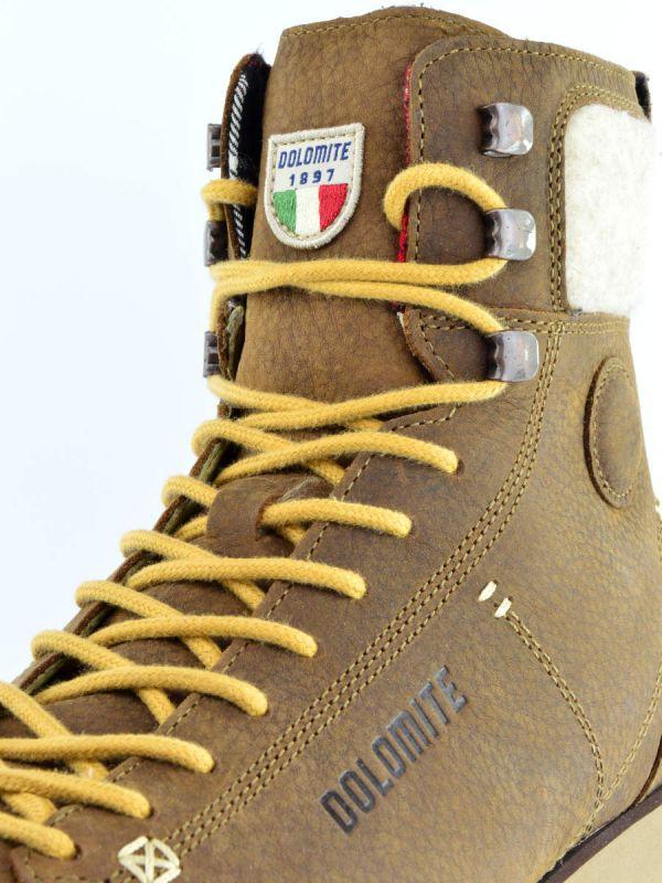 Męskie buty zimowe ze skóry Dolomite Cinquantaquattro Warm 2
