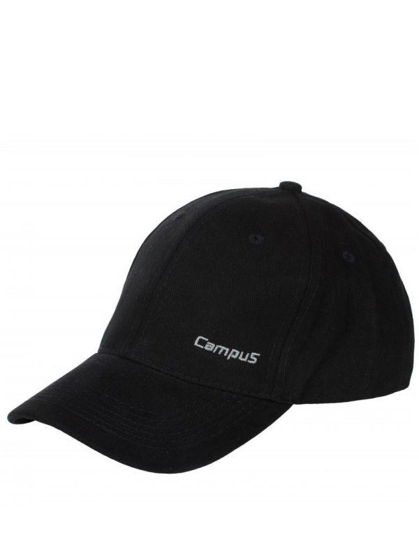 Czarna czapeczka z daszkiem Campus