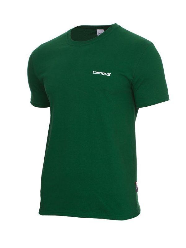 Zielona koszulka męska Campus Connor
