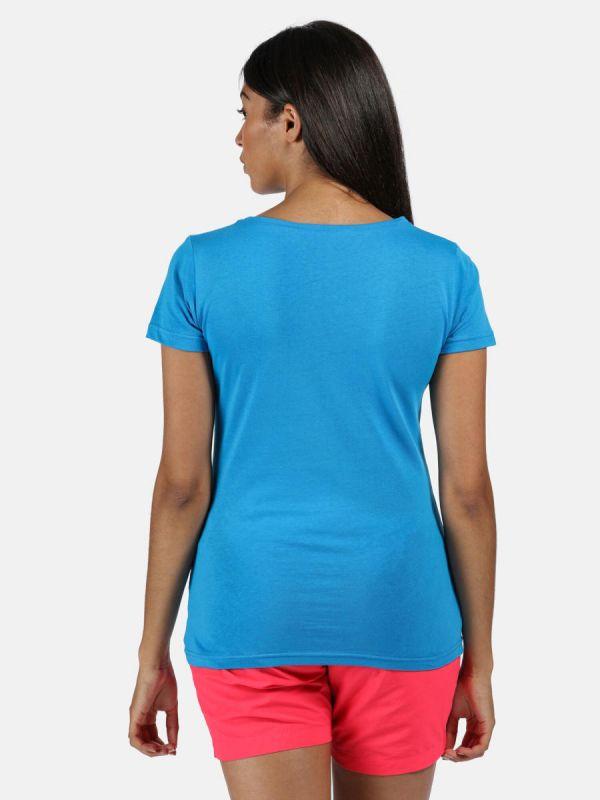 Niebieska koszulka Regatta Breezed