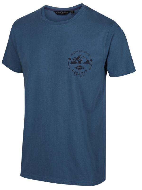 Męska koszulka bawełniana z nadrukiem Regatta Cline IV