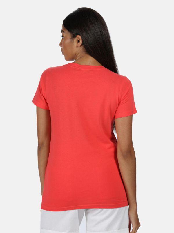 Damski t-shirt bawełniany Regatta Filandra Kolor brzoskwiniowy